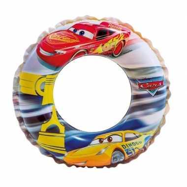 Intex opblaasbare zwemband cars rood 51 cm