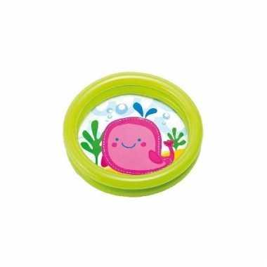 Intex zwembadje opblaasbaar voor kinderen groen 61 cm