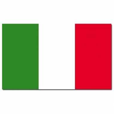 Italiaanse vlag 90 x 150 cm