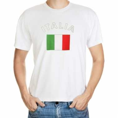 Italiaanse vlaggen t-shirts