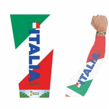 Italy tattoo mouwen voor volwassenen