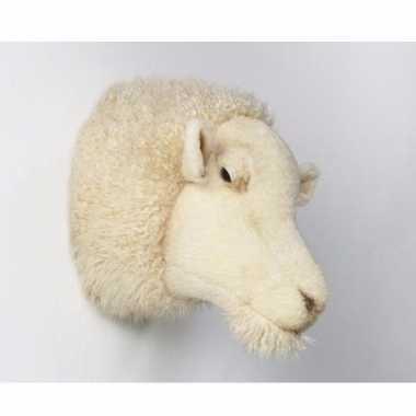 Jacht trofee wit schaap