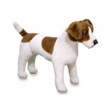 Jack russell terrier knuffel 53 cm