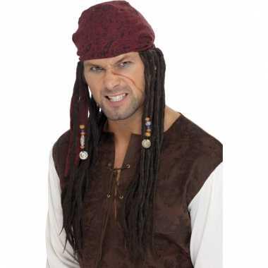 Jack sparrow piratenpruiken