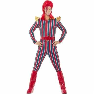 Jaren 70 popster outfit david bowie