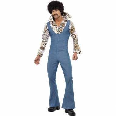Jaren 70 seventies disco kostuum voor heren