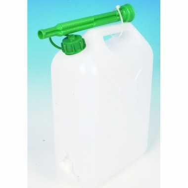 Jerrycan 10 liter met schenktuit