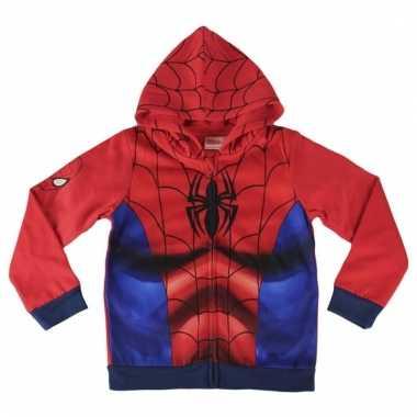 Jongens sweatshirt spiderman