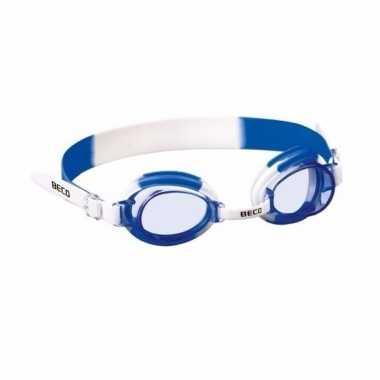 Jongens zwembril blauw