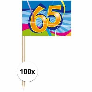 Jubileum prikkertjes 65 jaar 100 stuks