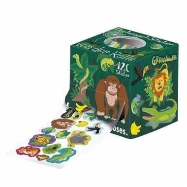 Jungle stickers 120 stuks