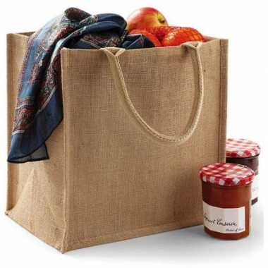 Jute shopping bag 30 cm