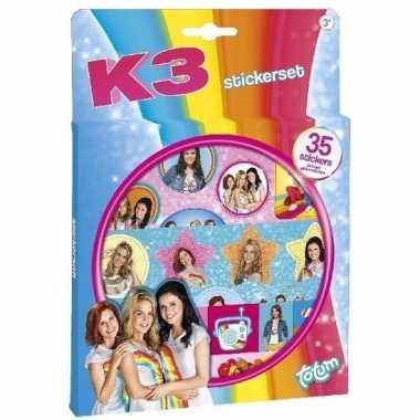 K3 stickervellen