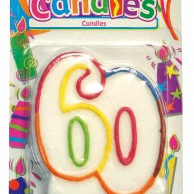 Kaars in vorm van 60
