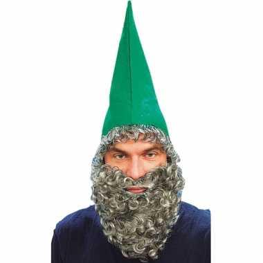 Kabouter hoed met baard
