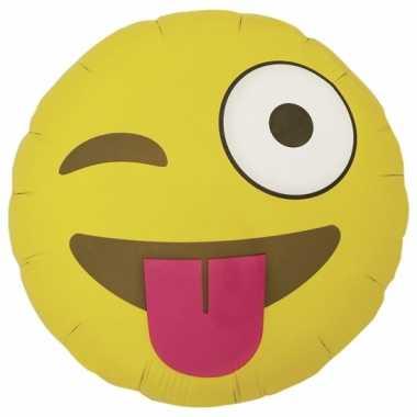 Kado ballon wink emoticon 46 cm