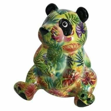 Kado spaarpot pandaatje type 4 15 cm