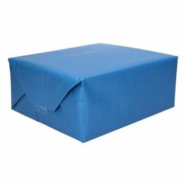 Kadopapier blauw licht blauw 200 x 70 cm