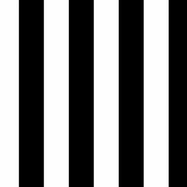 Kadopapier zwart/wit gestreept 70 x 200 cm