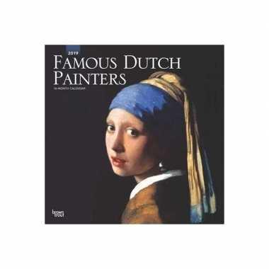 Kalender 2019 beroemde nederlandse kunstwerken