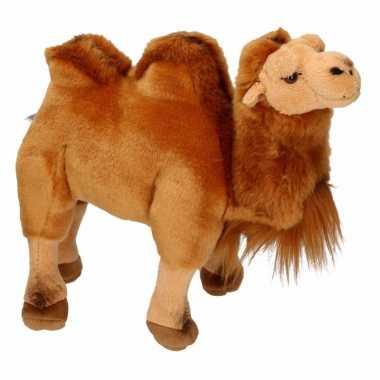 Kamelen knuffels bruine 26 cm