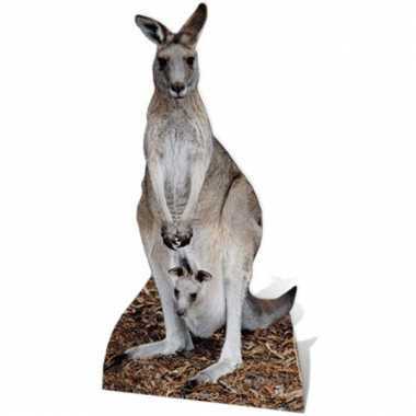 Kangoeroe decoratie bord