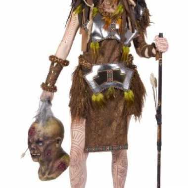 Kanibalen stam kostuum voor dames