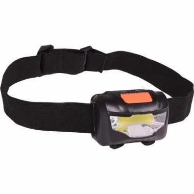 Kantelbare led hoofdlamp aan elastiek 3w