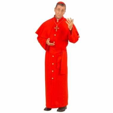 Kardinaal verkleedkleding rood