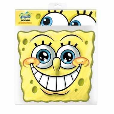 Kartonnen masker spongebob