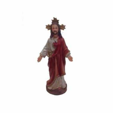 Kerst beeldje van jezus 13 cm