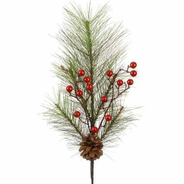 Kerst bessentak 60 cm