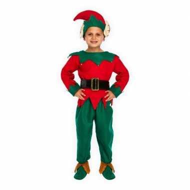 Kerst elfje kostuum voor kinderen