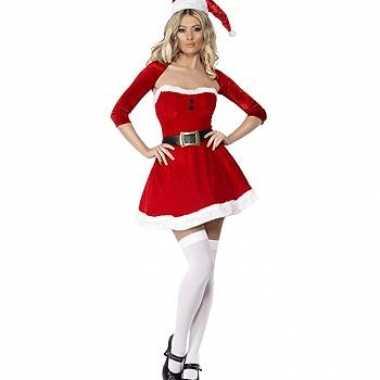 Kerst jurk met bolero