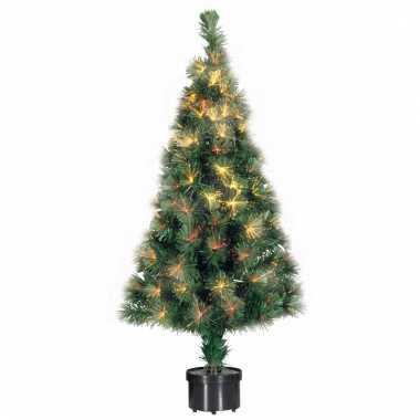 Kerst kunstboom met lampjes 60 cm