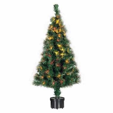 Kerst kunstboom met lampjes 90 cm