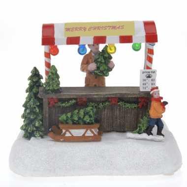 Kerst miniatuur led licht kerstboomwinkel