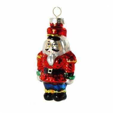 Kerst ornament soldaat 8 cm