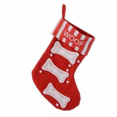 Kerst sokken voor hond 27 x 40 cm