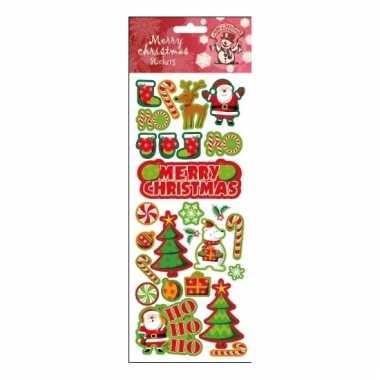 Kerstballen stickers