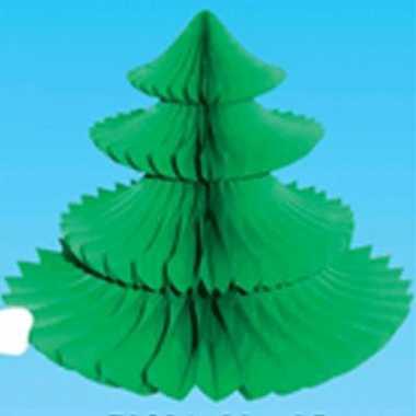 Kerstbomen tafeldecoratie