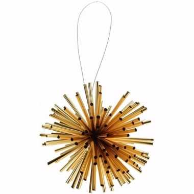 Kerstboom decoratie kerstbol classic gold 8 cm