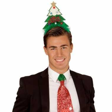 Kerstboom diadeem groen