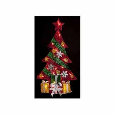 Kerstboom met led-licht 74 cm voor binnen