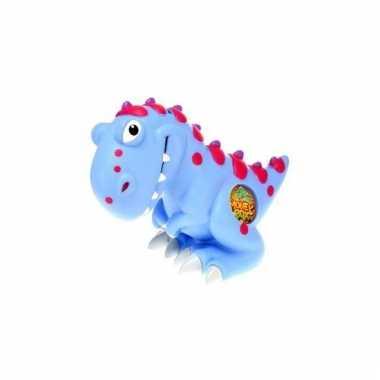 Kinder spaarpot dinosaurus blauw