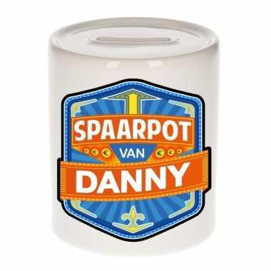 Kinder spaarpot keramiek van danny