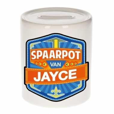 Kinder spaarpot keramiek van jayce