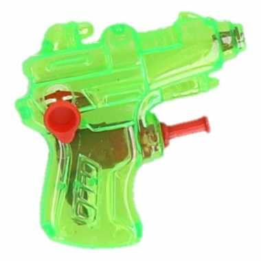 Kinder speelgoed mini waterpistool groen