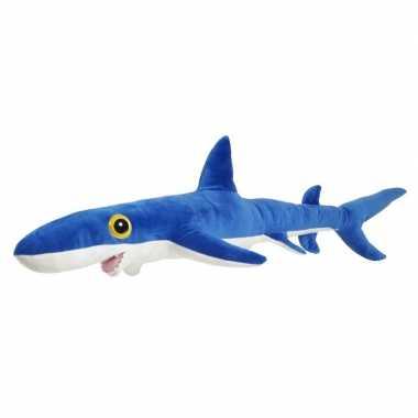 Knuffel blauwe haai 60 cm knuffels kopen