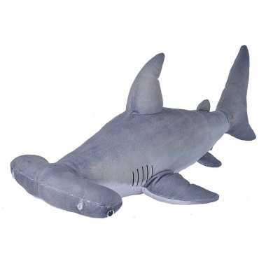 Knuffel haai grijs 55 cm knuffels kopen